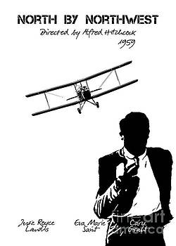 Justyna Jaszke JBJart - North by Northwest by Alfred Hitchcock