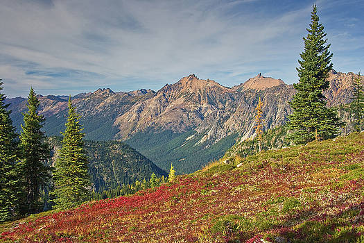 North Cascades by Bill Johnson