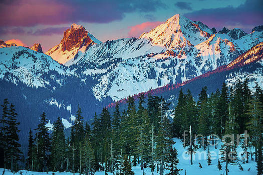 Inge Johnsson - North Cascades Sunset