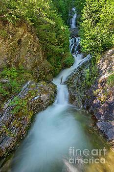 Paul Conrad - North Cascades Waterfall