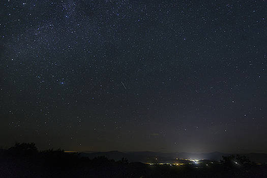 North Conway Meteor Shower by Austin Perry