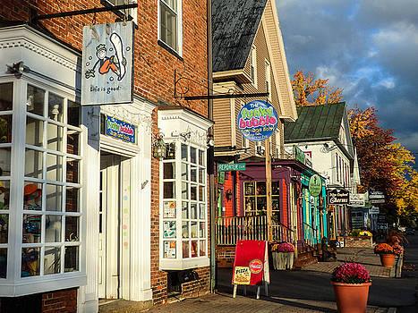 North Conway Village 2 by Nancy De Flon