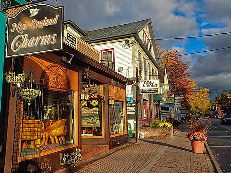 North Conway Village 3 by Nancy De Flon