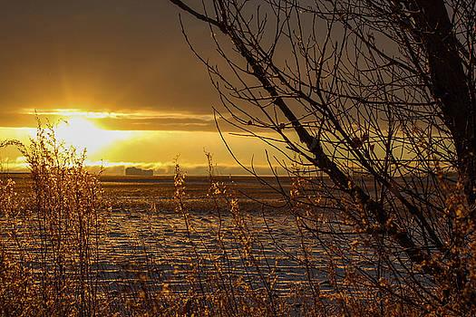 North Dakota Sunset by Christy Patino