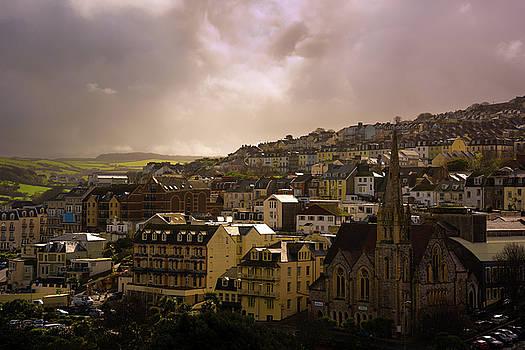 North Devon Town by Svetlana Sewell