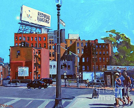 North End Morning by Deb Putnam