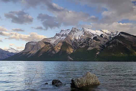 Reimar Gaertner - North Fairholme Range from Lake Minnewanka in Banff National Par