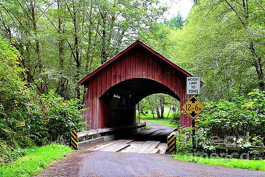 North Fork Yachts River Covered Bridge by Ansel Price