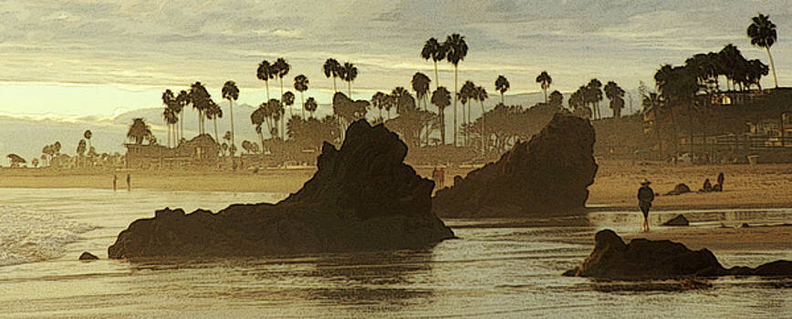 North Laguna Beach by Robert Ball