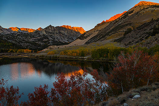 North Lake Sunrise by Bert Dennison