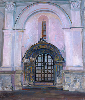 North portal, Cathedral of the Archangel. Kremlin museums by Yana Poklad