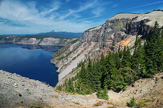 North Rim Of Crater Lake by Frank Wilson
