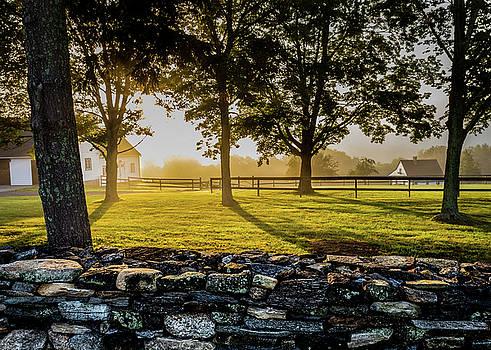 North Road Fog by Jim Gillen