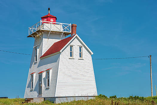 North Rustico Lighthouse by Eunice Gibb