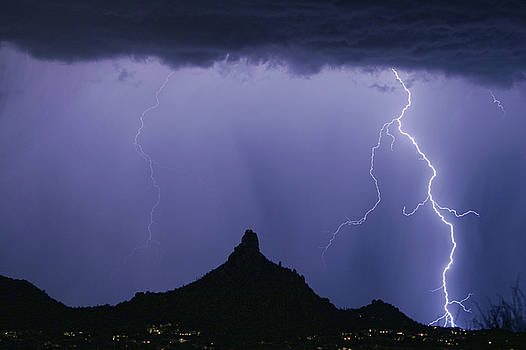 James BO Insogna - North Scottsdale Arizona Pinnacle Peak Monsoon