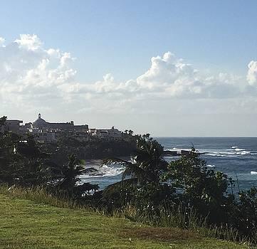 North Shore, old San Juan, Puerto Rico by Marina Gutierrez