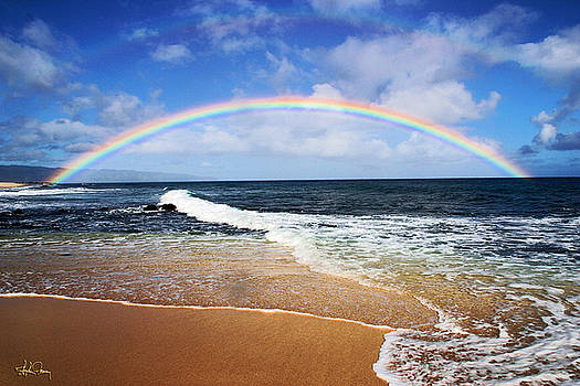 North Shore Rainbow by Stephen Fanning
