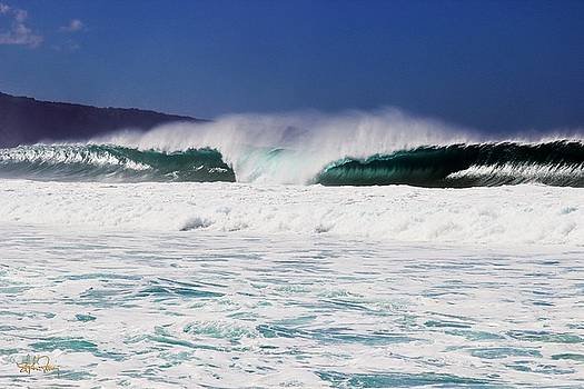 North Shore Wave by Stephen Fanning