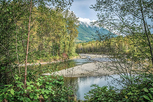 North Stilliguamish River View by Spencer McDonald