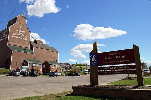 Northern Alberta Railways Park by Robert Braley