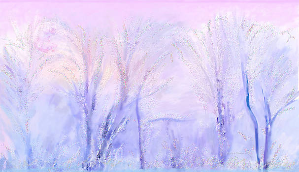 Angela A Stanton - Northern California Pastel Sunset