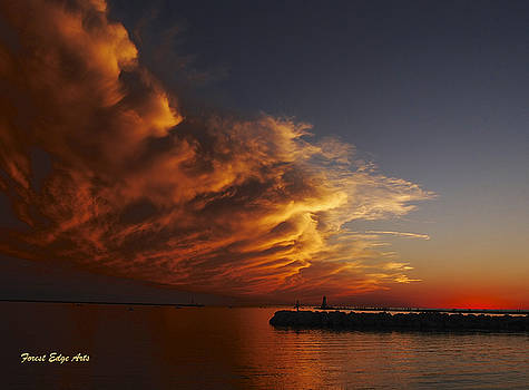 Northern Edge of Hurricane by Dick Bourgault