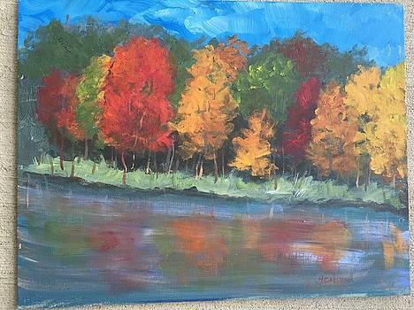Northern Fall by Georgene Carlton