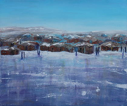 Northern Fishing VIllage by Ruth Kamenev