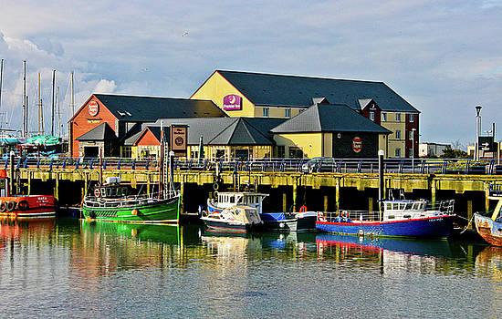 Northern Irish Pier I by Dawn Wayand