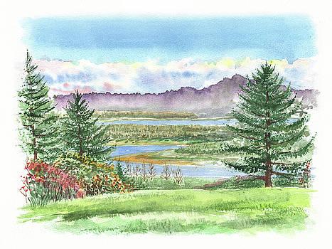 Irina Sztukowski - Northern Landscape Beginning Of Fall