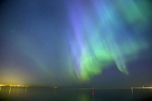 Sandra Rugina - Northern Lights Aurora Borealis in Estonia