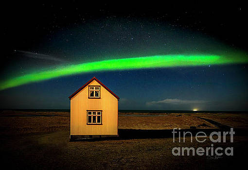 Northern Lights of Iceland 1 by Craig J Satterlee