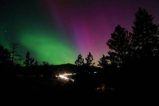 Northern Lights over Storm Mountain by Perspective Imagery