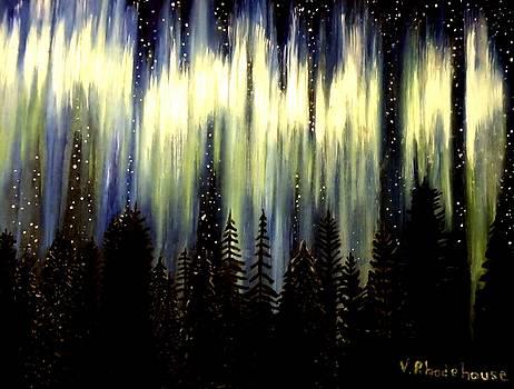 Northern Lights by Victoria Rhodehouse