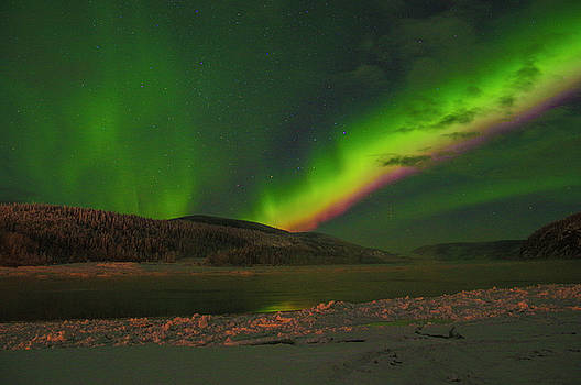 Northern Northern Lights 3 by Phyllis Spoor