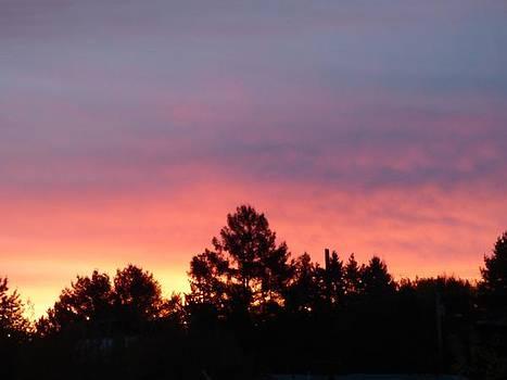 Northern sunset  by Scott Welton