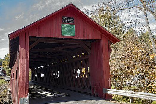 Bob Phillips - Northfield Falls Covered Bridge