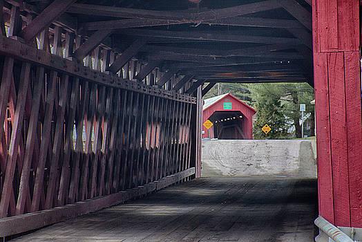 Northfield falls covered bridge by Jeff Folger