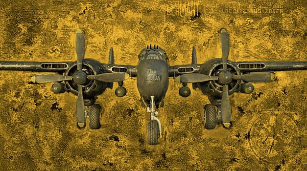 Northrop P-61 Black Widow by Michael Cleere