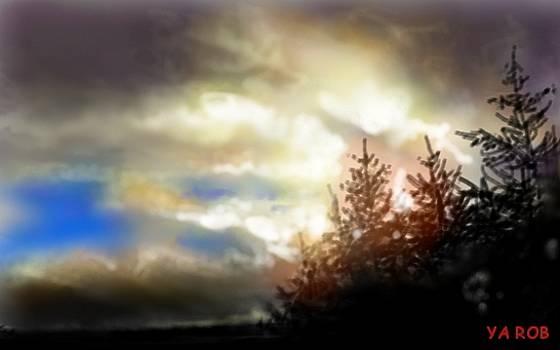 NorthWest Skyline by YourArtist Rob