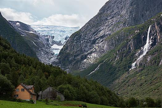 Norway Glacier Jostedalsbreen by Andy Myatt