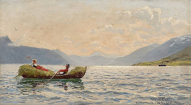 Norwegian Art by Hans Dahl