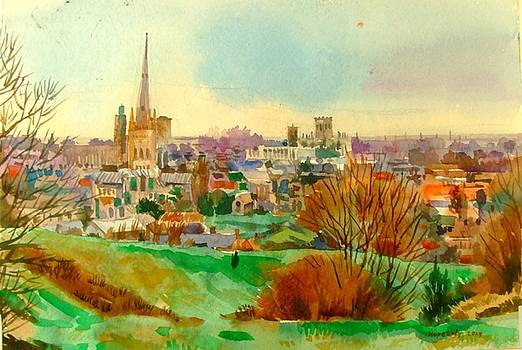 Norwich from overview by Hopebaby Pradit