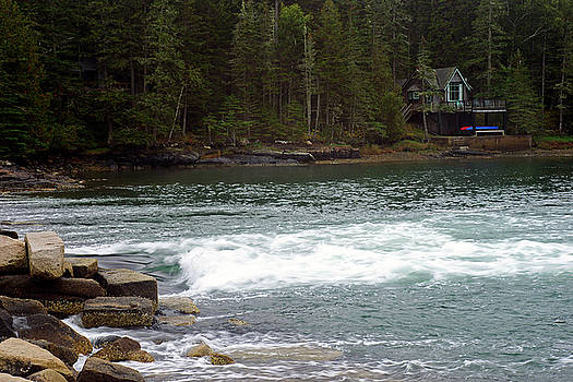 Norwood Cove Spillway by Bill Morgenstern