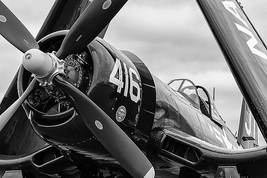 Nose of the Corsair - 2018 Christopher Buff, www.Aviationbuff.co by Chris Buff