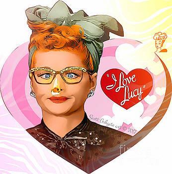 Nosejob I LOVE LUCY by Scott Ashgate