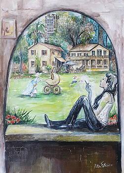 Nostalgia for Sarona by Rita Fetisov