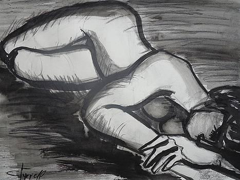 Nostalgic 2 - Female Nude by Carmen Tyrrell