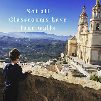 Not all Classrooms have 4 Walls by Lori Fitzgibbons