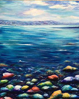 Not such a dead sea by Raya Finkelson